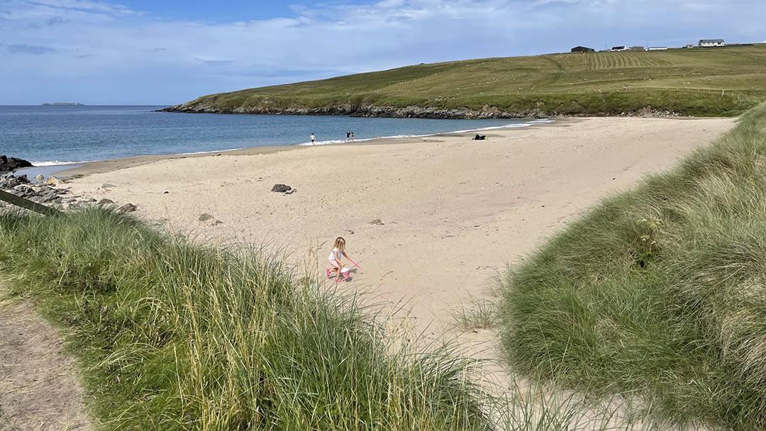 West Sandwick in Yell, Shetland