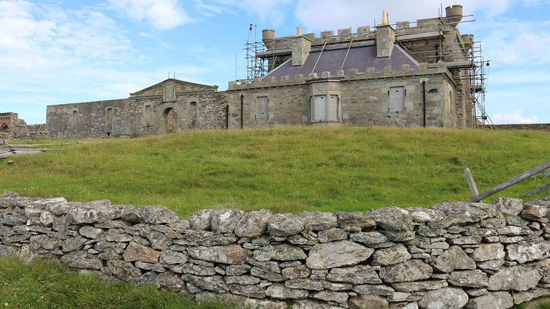Brough Lodge in Fetlar, Shetland