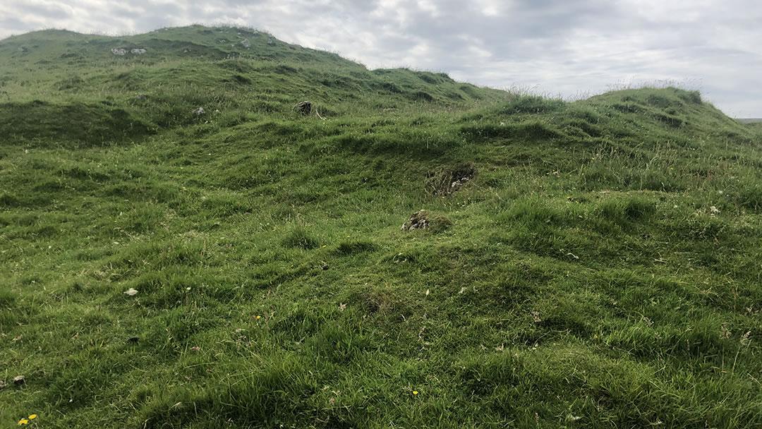 Houbie broch in Fetlar, Shetland