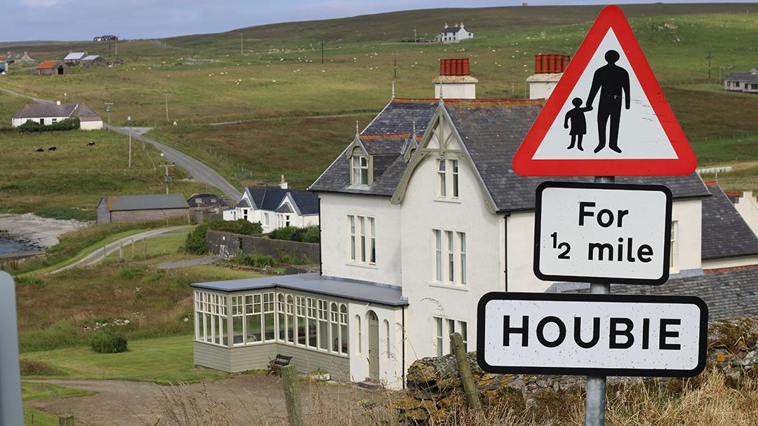 Leagarth House in Fetlar, Shetland