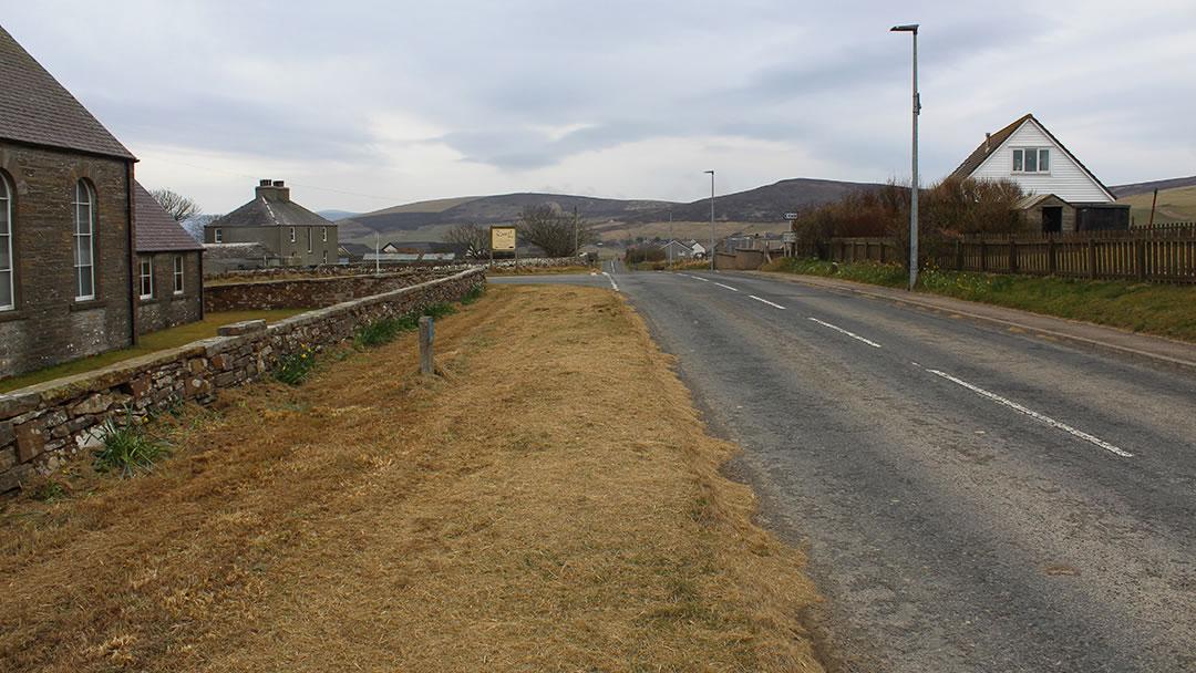 Orphir village, Orkney