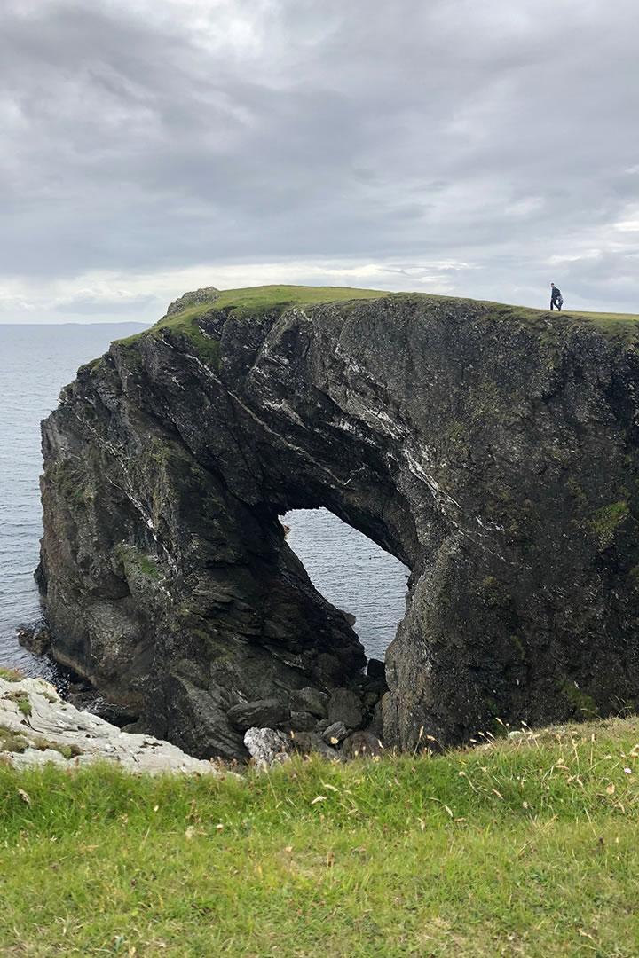 Snap walk in Fetlar, Shetland