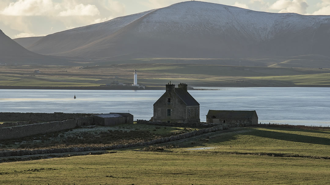 The Hall of Clestrain in Orkney