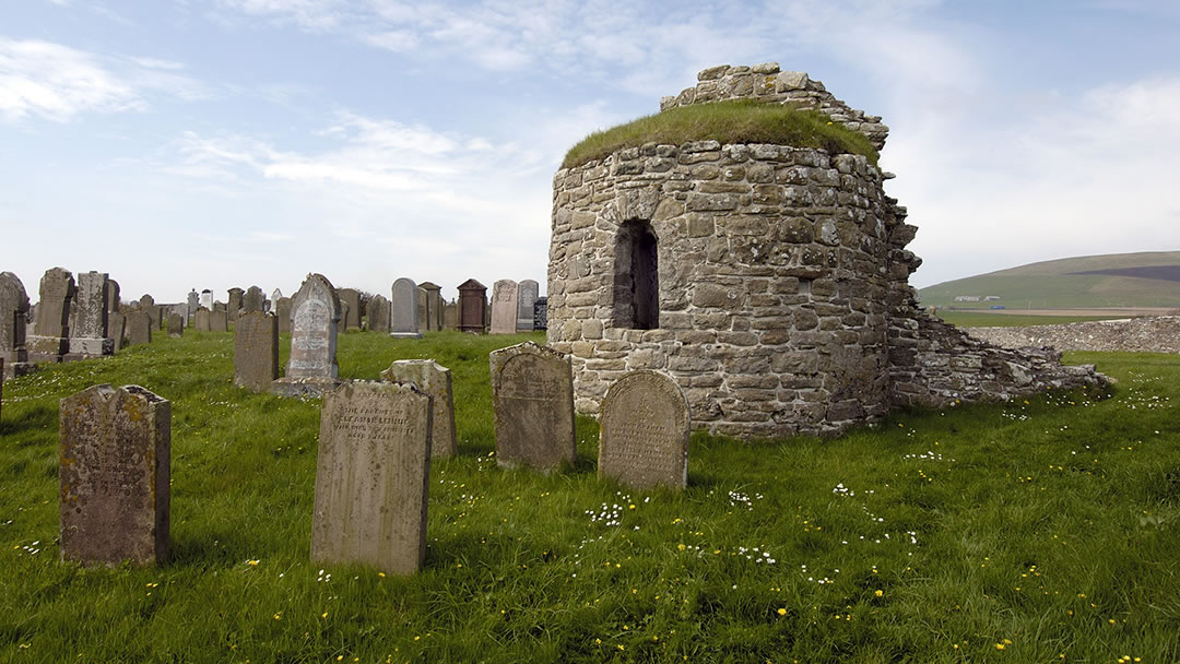 The Round Kirk in Orphir, Orkney