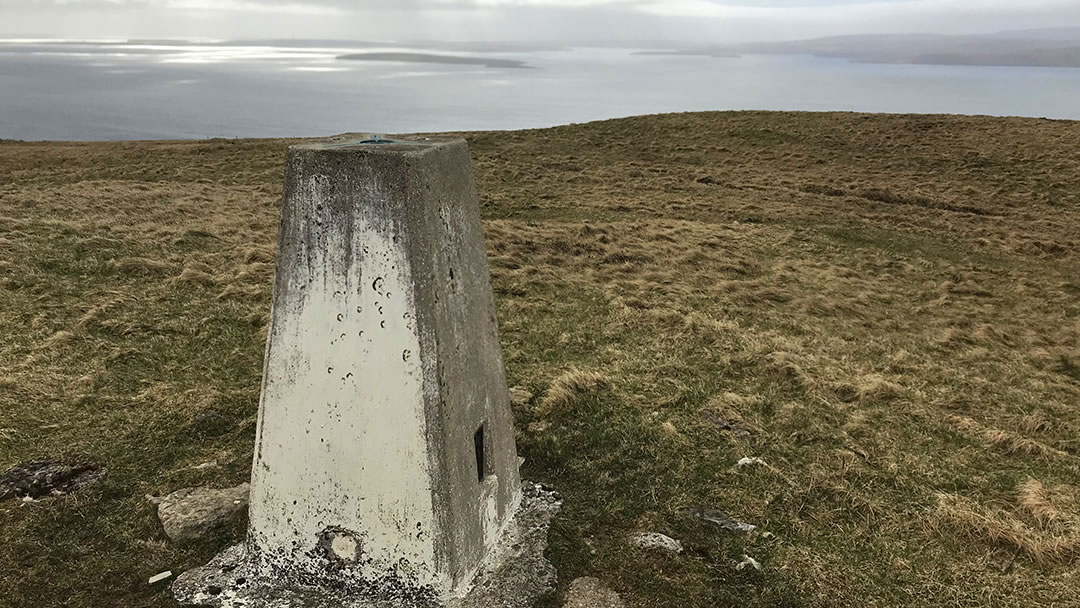 The summit of the Hill of Midland in Orphir, Orkney