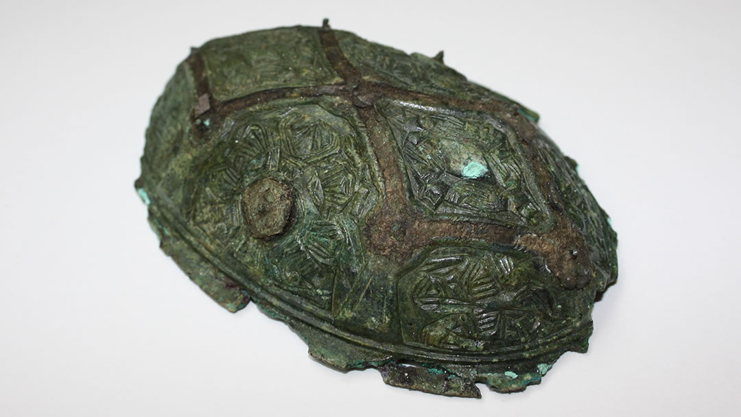 Viking brooch from the boat burial in Fetlar